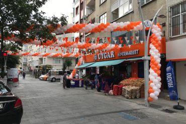 Market açılış organizasyonu