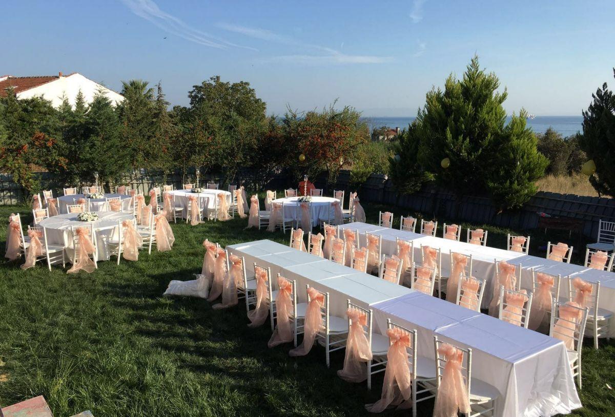 Bahçede Düğün ve Nikah Organizasyonu | Zirve Organizasyon