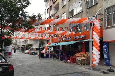 İstanbul Zincir Balon Süsleme