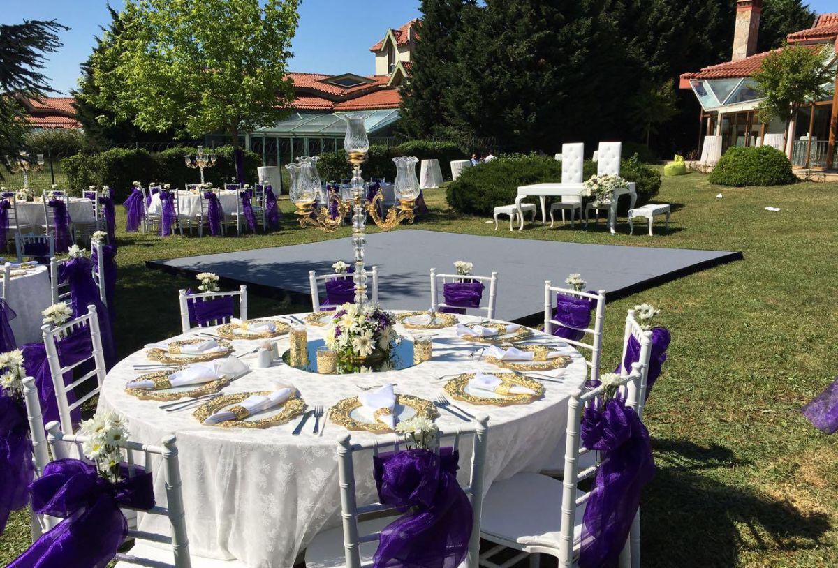Başakşehir Masa sandalye kiralama - Düğün, nikah, nişan, söz, kına