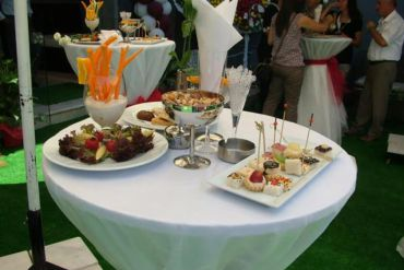 Açılış Organizasyonu Kokteyl Masası ve İkramlar