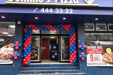 Açılış Organizasyonu Giriş Balon Süsleme ve Kırmızı Halı