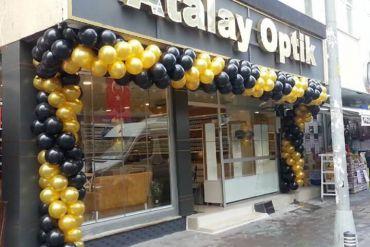 Açılış Organizasyonu Giriş Balon Süsleme