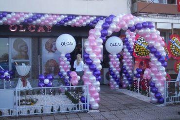 Açılış Organizasyonu Balon ve Giriş Süsleme