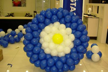 Açılış Organizasyonu İç Mekan Nazar Boncuğu Balon