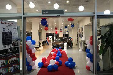 Açılış Organizasyonu Giriş Kemer Balon Süsleme
