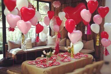Kalp Balon Süsleme Doğum Günü