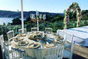 Düğün organizasyonu napolyon sandalye kiralama