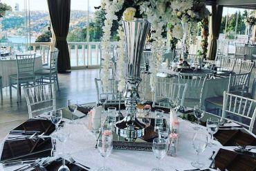 Düğün organizasyonu vazo & supla kiralama