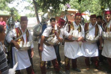 Karnaval Yiyecekler Osmanlı Şerbetçisi