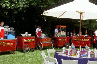 Karnaval Yiyecekler Piknik