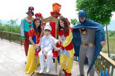 Sünnet Organizasyonu Palyaço ve Kostümlü Kahramanlar