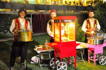 Açılış Pamuk Şeker, Popcorn, Osmanlı Macunu