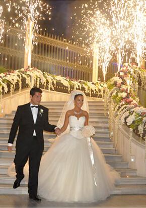 Düğün Organizasyonu Görkemli Giriş
