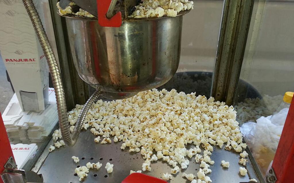 Popcorn Patlamış Mısır Arabası Kiralama
