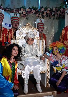 İslami Sünnet Düğünü Organizasyonu Yeniçeri ve Palyaçolar