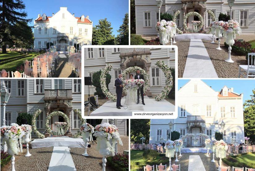 Maslak Kasrı'nda düğün ve nikah organizasyonu